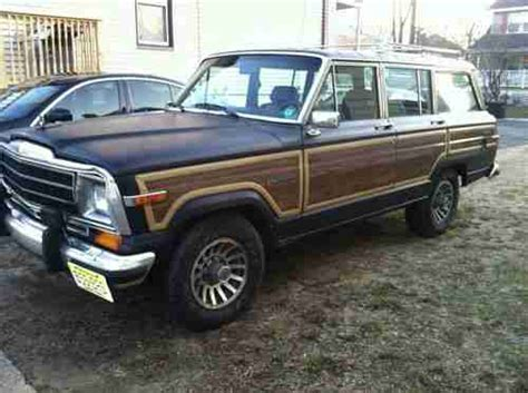 jeep wagoneer 1990 sell used 1990 jeep grand wagoneer central nj black in