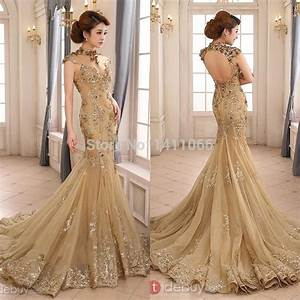 online get cheap gold wedding dresses aliexpresscom With wedding dresses gold