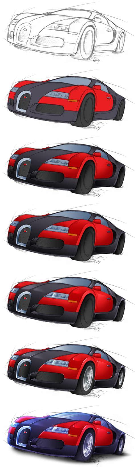 Bugatti veyron bugatti cars lamborghini lowrider drawings car drawings car drawing pencil pencil drawings mustang drawing cars coloring pages. Bugatti Veyron - Steps by Lizkay on DeviantArt