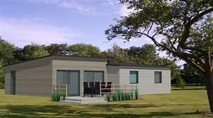 Becokit gamme de maisons chalets en ossature bois for Idee maison plain pied 4 becokit gamme de maisons chalets en ossature bois