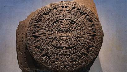 Aztec Calendar Anthropology Mexico Museum Stone National