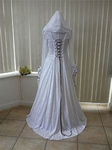 medieval handfasting gowns for a pagan bride With wiccan wedding dress