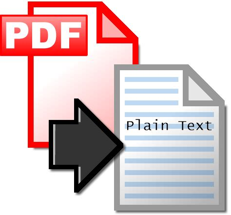 text converter easily convert pdfs  plain text