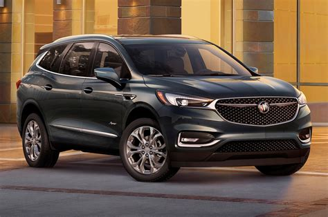 2018 Buick Enclave Avenir First Look: Redesigned Flagship
