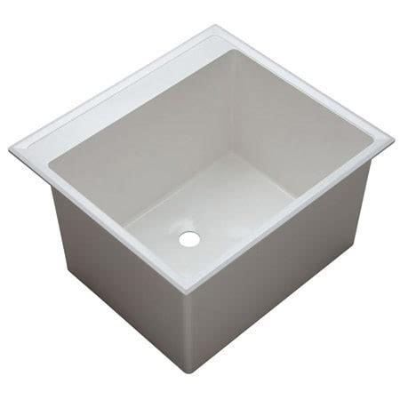 proflo kitchen sinks proflo pflt2522d white 24 1 2 quot single basin drop in 1672