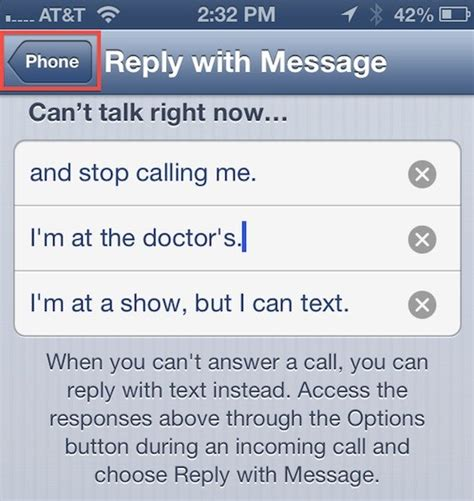 iphone auto reply text how to create auto reply messages on your iphone