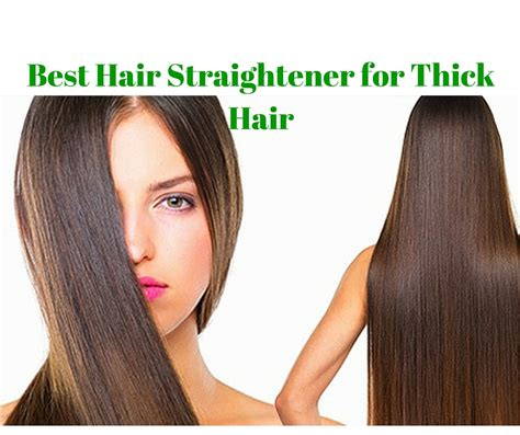 reviews    hair straightener  thick hair