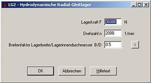 Hexagon Berechnen : lg2 hydrodynamische radial gleitlager nach din 31652 ~ Themetempest.com Abrechnung