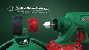 Farbspritzpistole Für Wandfarbe : bosch pfs 3000 2 ab 95 50 preisvergleich bei ~ Buech-reservation.com Haus und Dekorationen