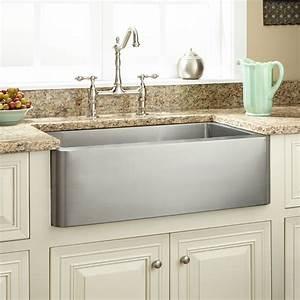 27quot hazelton stainless steel farmhouse sink kitchen With 27 farmhouse sink white