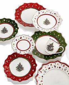 Weihnachtsgeschirr Villeroy Und Boch Toy S Delight : villeroy boch toy 39 s delight dinnerware collection reviews fine china macy 39 s ~ Watch28wear.com Haus und Dekorationen