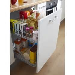 Meuble Rangement Cuisine : rangement coulissant 2 paniers pour meuble cm ~ Melissatoandfro.com Idées de Décoration