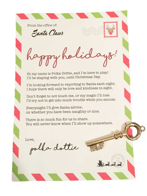 elf   shelf arrival letter   smudgey