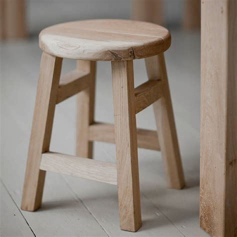 narrow bar stools uk small oak stool by all things brighton beautiful