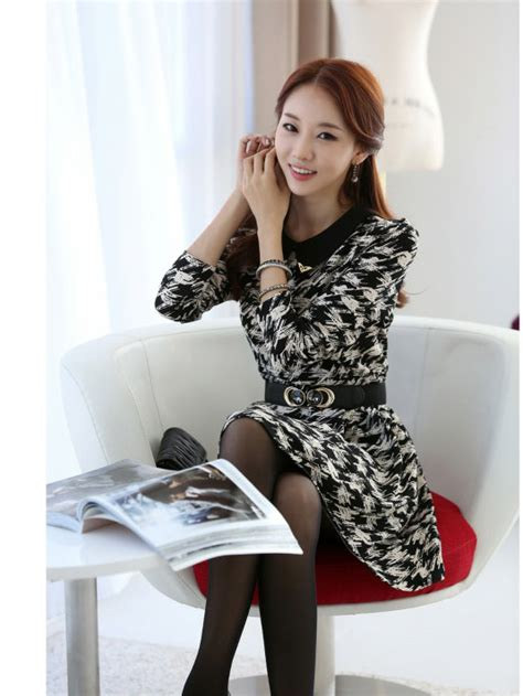tampil stylish  kantor  dress kerja korea toko