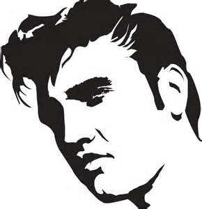 Elvis Presley Template Stencil