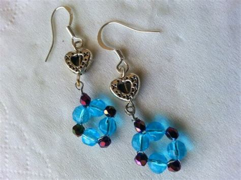 New Dangle Earrings! !!! Simple Easy Jewelry Making Ideas