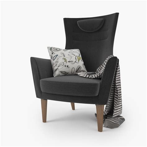 Ikea Stuhl Stockholm by 3d Model Ikea Stockholm Chair Seat