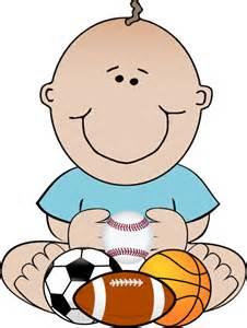 Baby Boy Sports Clip Art