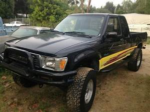 1990 Toyota Tacoma Extended Cab 4x4 Pickup Truck Rebuilt Engine For Sale