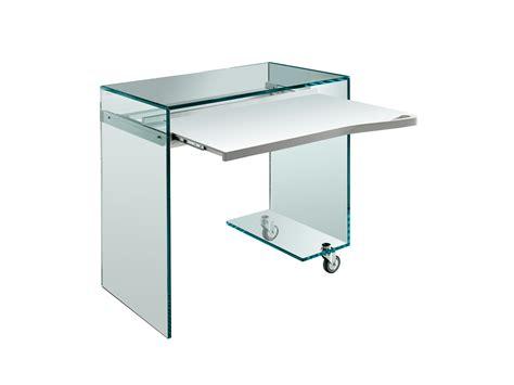 verre pour bureau bureau en verre pour pc work box by t d tonelli design