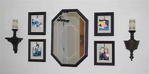 4th of July Decorating-Using an Old Mirror