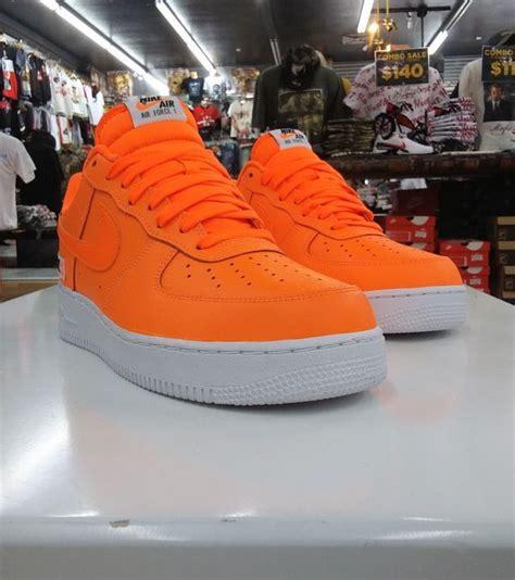 nike air 1 low jdi total orange size 10 5 for sale