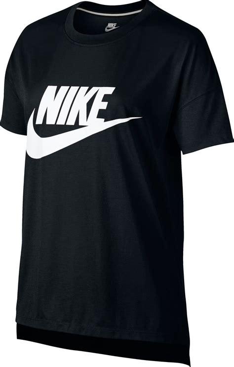 nike signal logo t shirt black