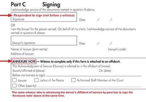 serve  divorce family court  australia
