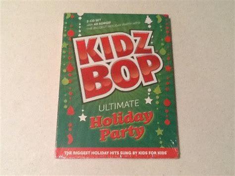 kidz bop christmas cd covers