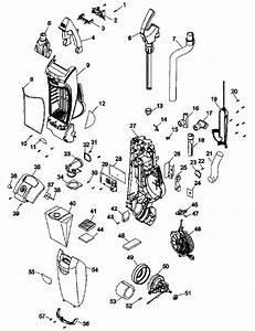 Hoover U8311 Windtunnel 2 Vacuum Parts