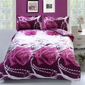 Aliexpress, Com, Buy, Unihome, 4pcs, Bedding, Set, Queen, Size