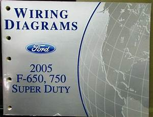 2005 Ford Electrical Wiring Diagram Service Manual F650
