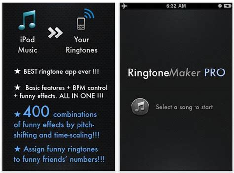 iphone ringtone maker apps now available on app
