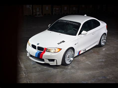 2011 H&r Springs Bmw 1m Coupe Wallpapers By Cars-wallpapers.net