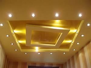 Corniche Plafond Platre : plafond placoplatre decoration plafond ~ Voncanada.com Idées de Décoration