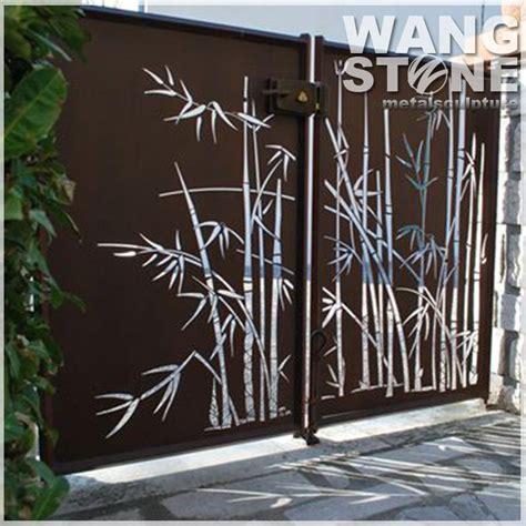 Bamboo outdoor nature plants decal office bedroom vinyl wall mural decor sticker. 20 Inspirations Bamboo Metal Wall Art | Wall Art Ideas