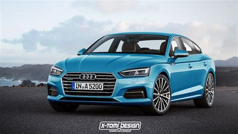 2017 Audi A5 Sportback And Convertible Will Look Like This