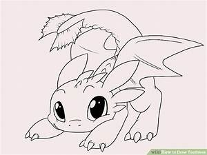 How to Draw Toothless (with Pictures) - wikiHow