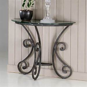 les 25 meilleures idees de la categorie console fer forge With meuble d entree maison du monde 13 table console demi lune en fer forge et bois de sheesham