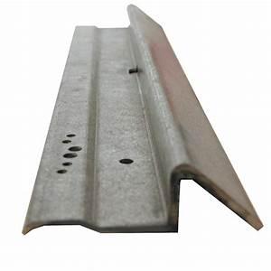 seuil pour porte de garage coulissante leroy merlin With comment fabriquer une porte en acier