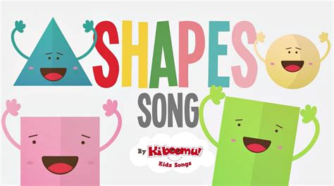 shapes songs for children shape song shapes songs for 752 | maxresdefault