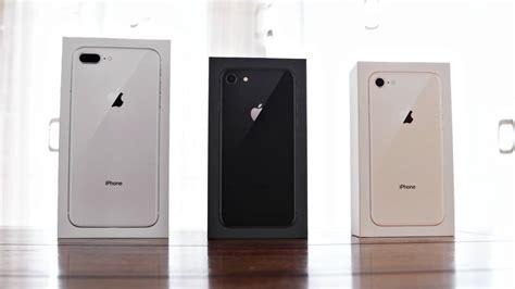 Apple Iphone 8 Plus Unboxing Alle Farben