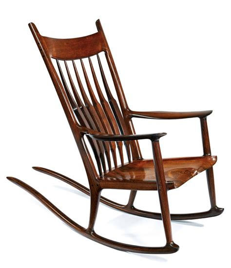 maloof rocking chair auction sam maloof rocking chair garry clock go to
