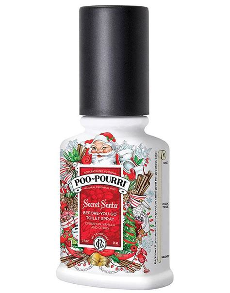 Bathroom Odor Neutralizer by Poo Pourri Secret Santa Toilet Bathroom Spray Essential