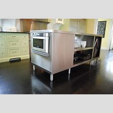 Hand Crafted Stainless Steel Kitchen Islands By Custom