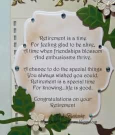 Poem for Retirement Card