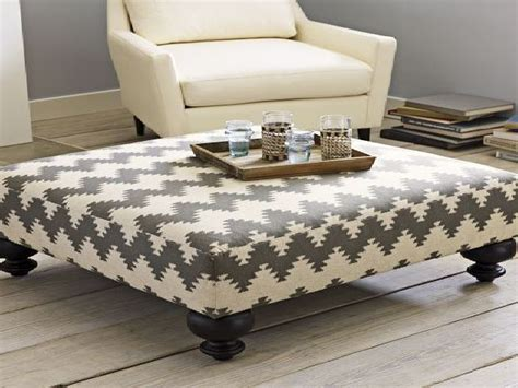 Large Cushioned Ottoman by Free Decoration Cushion Coffee Table With Mandrinhomes