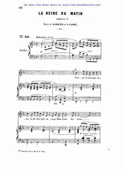 Reine Saba Sheet Gounod Charles Kb Pdf