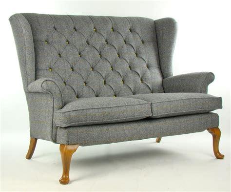 Parker Knoll Sofa In Harris Tweed Wool Home Hopes